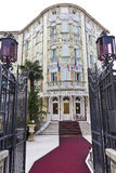 Ausonia Palace Hotel in Lido, Venezia Stock Images