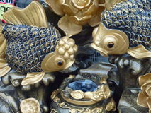 Auspicious carving products Royalty Free Stock Images