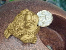 Auspicious carving products Stock Images