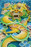 Auspicious dragon statue Stock Photography