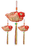 Auspicious Fish Ornaments Stock Photography