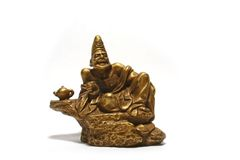 Auspicious Ji Gong Deity Royalty Free Stock Images