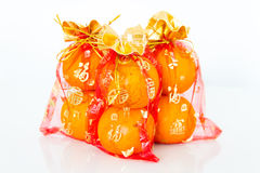Auspicious orange Stock Photography