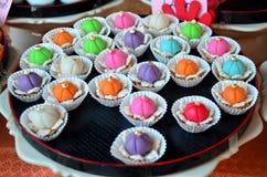 Auspicious Thai Desserts Stock Image