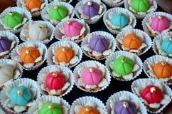 Auspicious Thai Desserts Royalty Free Stock Image
