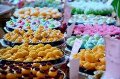Auspicious Thai Desserts Royalty Free Stock Photography