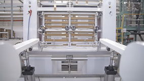 Ausrüstung auf einer Fabrik stock video footage