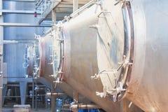 Ausrüstung auf Produktionswein Lizenzfreie Stockfotos