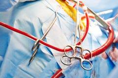 Ausrüstung der chirurgischen Behandlung Lizenzfreie Stockbilder