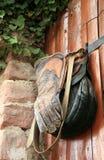 Ausrüstung der Falkner Lizenzfreies Stockfoto