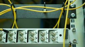 Ausrüstung des Betreibers der Kommunikation Stockfoto