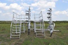 Ausrüstung einer Ölquelle Lizenzfreies Stockbild