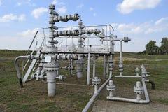 Ausrüstung einer Ölquelle Lizenzfreies Stockfoto