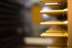 Ausrüstung für die Fertigung von Vorformlingen für Plastikflaschen Pressemaschine produziert Flaschen für Plastikflaschen Lizenzfreies Stockbild