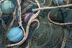 Ausrüstung für Fischer stockbild