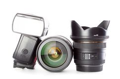 Ausrüstung für Fotografie Lizenzfreie Stockfotografie