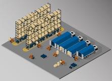 Ausrüstung für Frachtlieferung Lizenzfreie Stockfotos