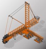 Ausrüstung für Hochbergbauindustrie Stockbild