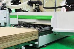 Ausrüstung für Holzbearbeitungsindustrie lizenzfreies stockbild