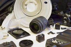 Ausrüstung für Studiophotographie Lizenzfreie Stockfotografie