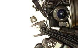 Ausrüstung für Studiophotographie Lizenzfreie Stockfotos