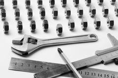 Ausrüstung fow Arbeit Lizenzfreies Stockbild