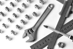 Ausrüstung fow Arbeit Stockbilder