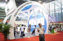 Ausrüstung internationalen Hotels Shenzhens und Versorgungsausstellung, in China Stockfotos