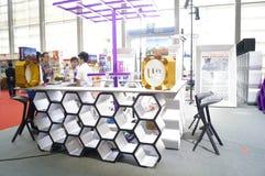 Ausrüstung internationalen Hotels Shenzhens und Versorgungsausstellung, in China Stockbild