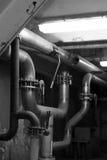 Ausrüstung, Seilzüge und Rohrleitung Stockbilder