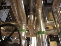 Ausrüstung, Seilzüge und Rohrleitung stock video footage