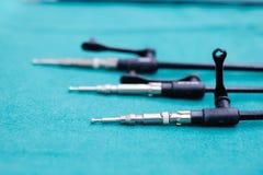 Ausrüstung und medizinische Geräte Stockfoto