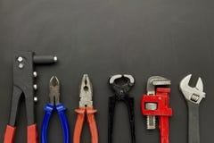 Ausrüstung Werkzeuge Lizenzfreies Stockbild