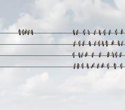 Ausschließliches Gruppen-Konzept stock abbildung