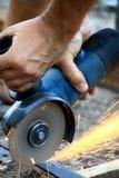 Ausschnitt des Metalls Lizenzfreies Stockfoto