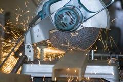 Ausschnitt des Metalls lizenzfreie stockfotos