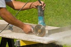 Ausschnitt-GranitCountertops Lizenzfreies Stockbild