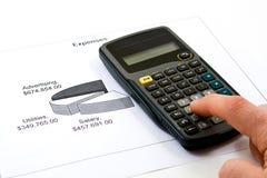 Ausschnitt-Kosten Lizenzfreies Stockbild