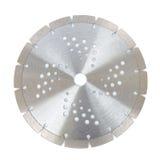 Ausschnittscheiben mit Diamanten - Diamantdisketten für den Beton lokalisiert auf dem weißen Hintergrund Stockfoto