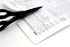 Ausschnittsteuern lizenzfreies stockbild