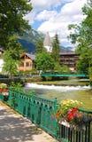 Aussee ruim, Styria, Áustria fotografia de stock
