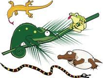 Aussenseiter-Reptilien stock abbildung
