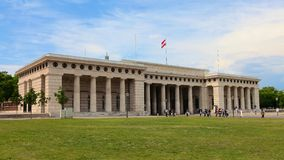 Ausseres Burgtor in Vienna, Austria Stock Photo