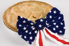 Aussi américain que la tarte aux pommes Photos stock