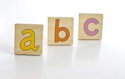 Aussi simple qu'A B C Photo stock