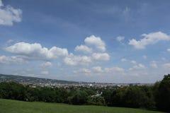 Aussicht am Rotberg Stockfotografie