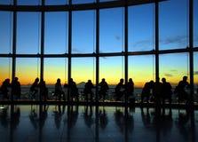 Aussichtsplattformstandpunkt Lizenzfreies Stockfoto