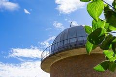 Aussichtsturm in Leiden, die Niederlande lizenzfreies stockbild