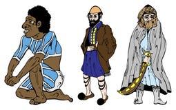 aussie τα βεδουίνα ελληνικά στοκ εικόνες