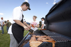 Aussie BBQ in the Park Stock Image